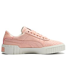 Puma Women's California Nubuck Casual Sneakers from Finish Line