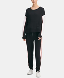 DKNY Sport Colorblocked Sweatshirt