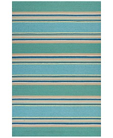 KAS Harbor Stripes 4230 Ocean 2' x 3' Indoor/Outdoor Area Rug