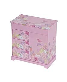 Pearl Girl's Musical Ballerina Jewelry Box