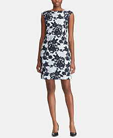 Lauren Ralph Lauren Floral-Lace Dress