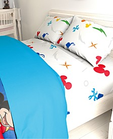 Mickey Mouse 3-Pc. Twin Sheet Set
