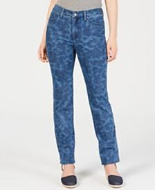 Charter Club Lexington Straight-Leg Tummy-Control Jeans, Created for Macy's