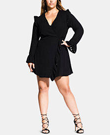 City Chic Trendy Plus Size Catalina Playsuit