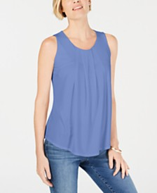 Charter Club Draped Swing Tank, Created for Macy's