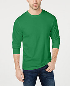 Club Room Men's Long Sleeve T-Shirt, Created for Macy's