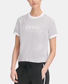 DKNY Sport Logo Ringer T-Shirt, Created for Macy's