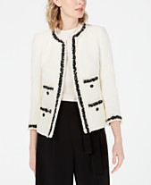 befd1d55f24 Anne Klein Jackets for Women - Macy s