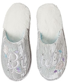 Bridal Closed Toe Scuff
