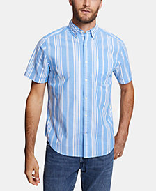 Nautica Men's Blue Sail Classic Fit Shirt, Created for Macy's