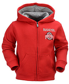 Outerstuff Ohio State Buckeyes Red Zone Full-Zip Hoodie, Toddler Boys (2T-4T)