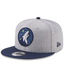 New Era Minnesota Timberwolves Heather 2Tone Current 9FIFTY Snapback Cap