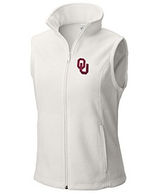 Women's Oklahoma Sooners Give & Go Two Fleece Vest