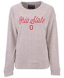 Top of the World Women's Ohio State Buckeyes Vintage Boucle Crew Sweatshirt