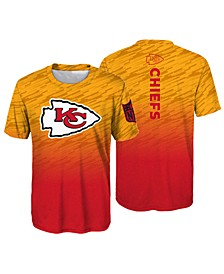 Kansas City Chiefs Sublimated Poly T-Shirt, Little Boys (4-7)