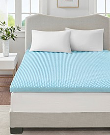"Flexapedic by 3"" Cooling Gel-Infused Memory Foam Mattress Topper Collection"