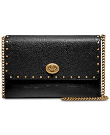 COACH Marlow Crossbody in Signature Embossed Leather