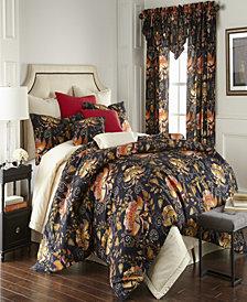 Midnight Bloom Comforter Set Queen