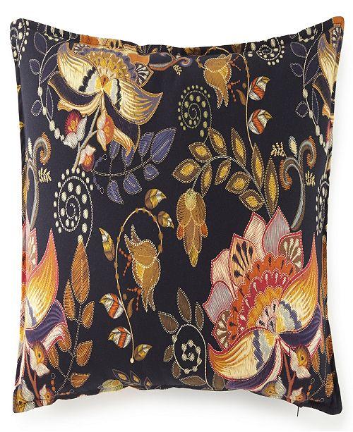 Colcha Linens Midnight Bloom Pillow Sham-Standard/Queen
