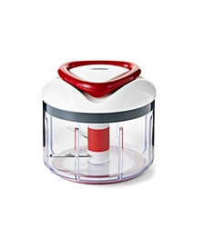 Easy Pull Food Chopper and Manual Food Processor - Vegetable Slicer and Dicer - Hand Held