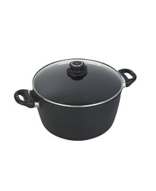 "Swiss Diamond HD Induction Stock Pot with Lid - 11"" , 8.5 QT"