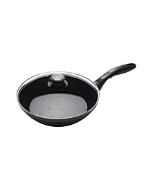 """HD Induction Stir Fry Pan with Lid - 9.5"""" , 2.2 QT"""