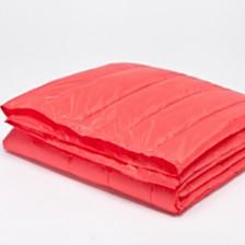 """PUFF 50"""" x 70"""" Down Alternative Indoor/Outdoor Water Resistant Packable Throw"""