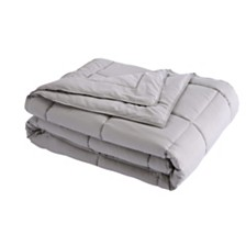 Lotus Home Down Alternative King Blanket with Microfiber Cover and Water and Stain Resistance