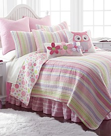 Levtex Home Merrill Stripe Girl Full/Queen Quilt Set