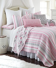 Home Daniella Full/Queen Quilt Set