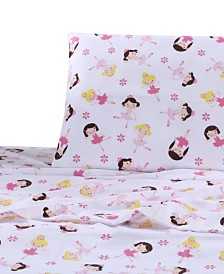 Levtex Home Bella Ballerina Twin Sheet Set