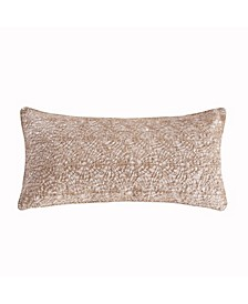 Home Spruce Gold Overlay Pillow