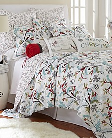 Home Holly Twin Quilt Set