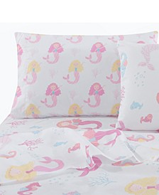 Home Mermaid Twin Sheet Set