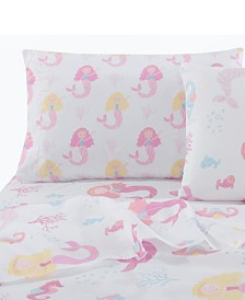 Levtex Home Mermaid Twin Sheet Set