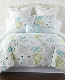 Home Biscayne Twin Duvet Cover Set