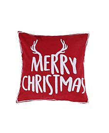 Home Rudolph Merry Christmas Pillow