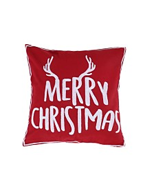 Levtex Home Rudolph Merry Christmas Pillow