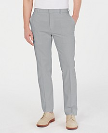 Men's Modern-Fit TH Flex Stretch Comfort Solid Dress Pants