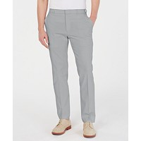 Tommy Hilfiger Men's Modern-Fit TH Flex Stretch Comfort Solid Dress Pants