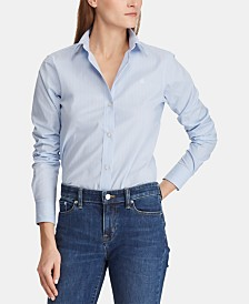 Lauren Ralph Lauren Non-Iron Striped Shirt