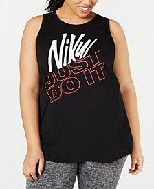 Nike Plus Size Dry Logo Tank Top