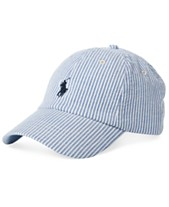 243f82396feaf Polo Ralph Lauren Men s Seersucker Baseball Cap