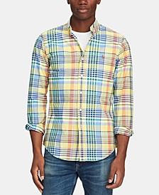 Men's Slim-Fit Stretch Oxford Shirt