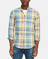 0fc284baab4f Polo Ralph Lauren Men s Slim-Fit Stretch Oxford Shirt