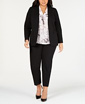 637c757a0f202 Bar III Plus Size Open-Front Jacket