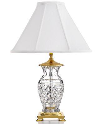 six lamp arm floor crystal fixtures lighting waterford mi table bell chandelier blue lamps chandeliers