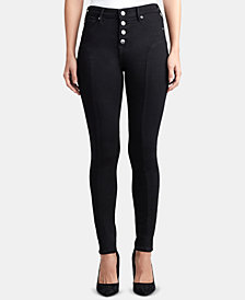True Religion Halle Button-Fly Skinny Jeans