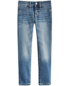Polo Ralph Lauren Little Girls Aubrie Denim Leggings
