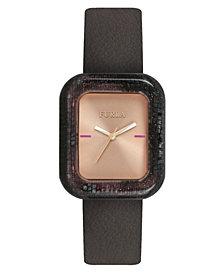 Furla Women's Elisir Rose Gold Dial Calfskin Leather Watch